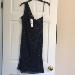 Ralph Lauren evening dress with tags attached